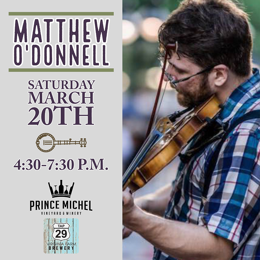Matthew O'Donnell Live!