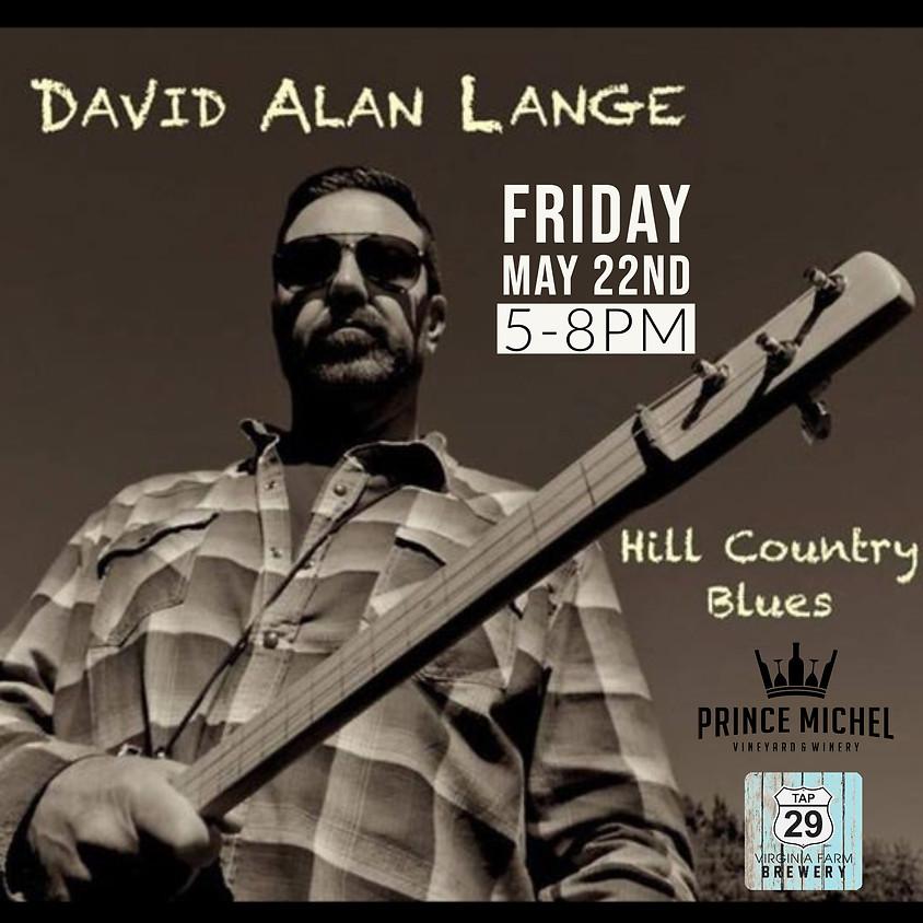 Live Music by David Lange!