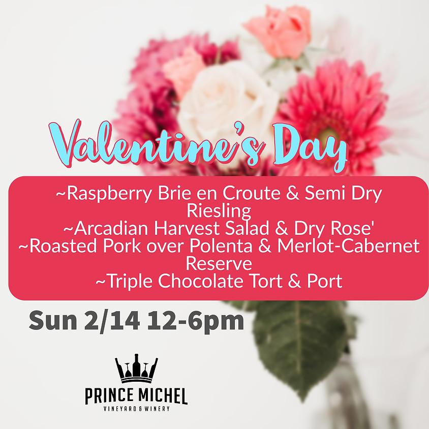 Valentine's Food & Wine Pairing