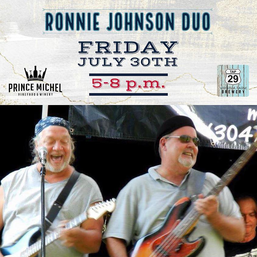 Ronnie Johnson Band Live!