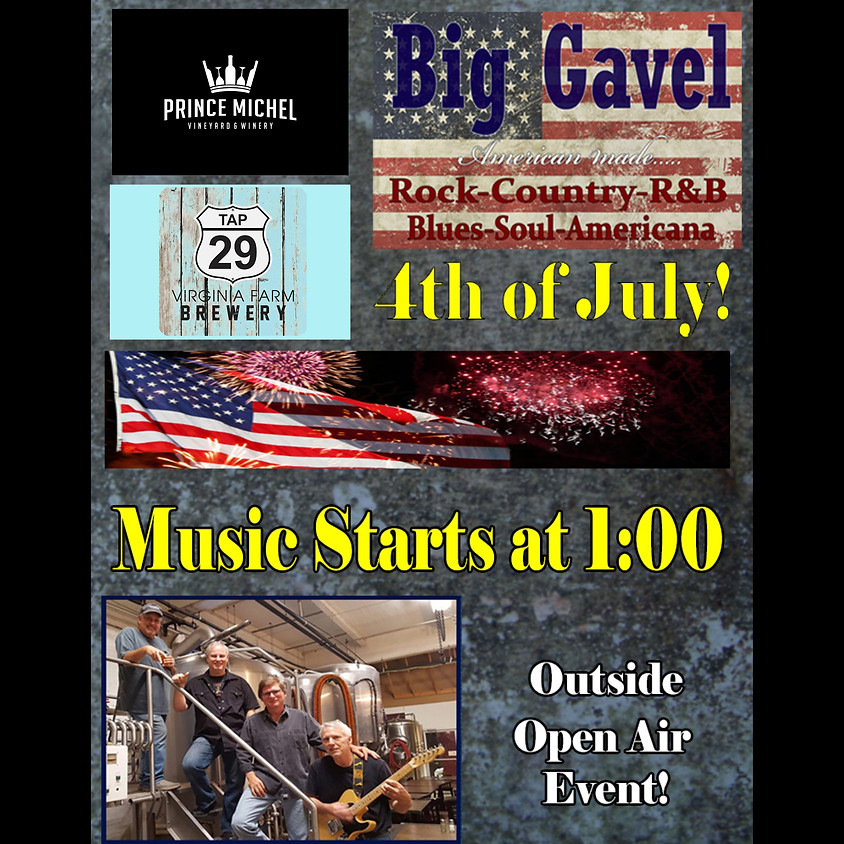 Big Gavel Band Live!