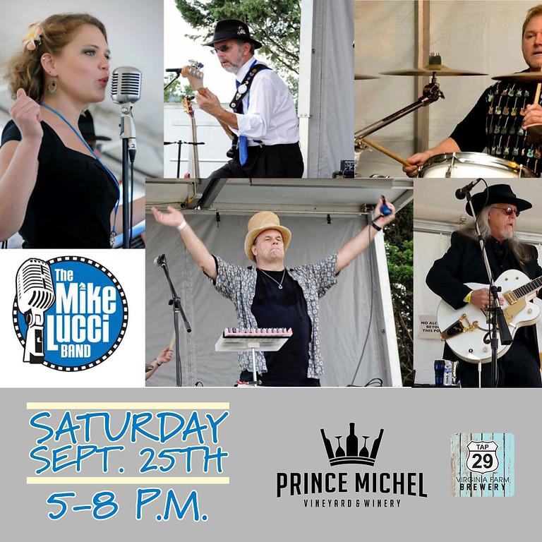 Live Music by The Mike Lucci Band!