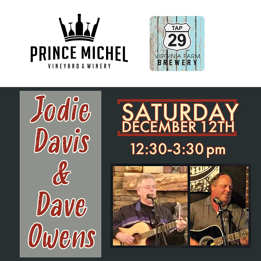Live Music by Jodie & Dave!