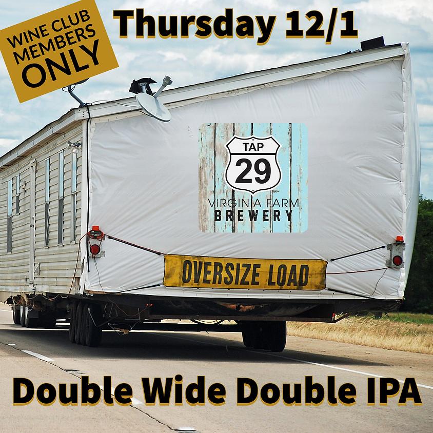 Double IPA Beer Pre-Release
