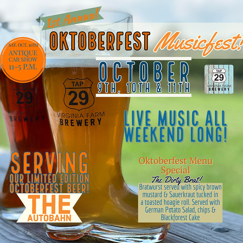 Oktoberfest Musicfest Weekend!