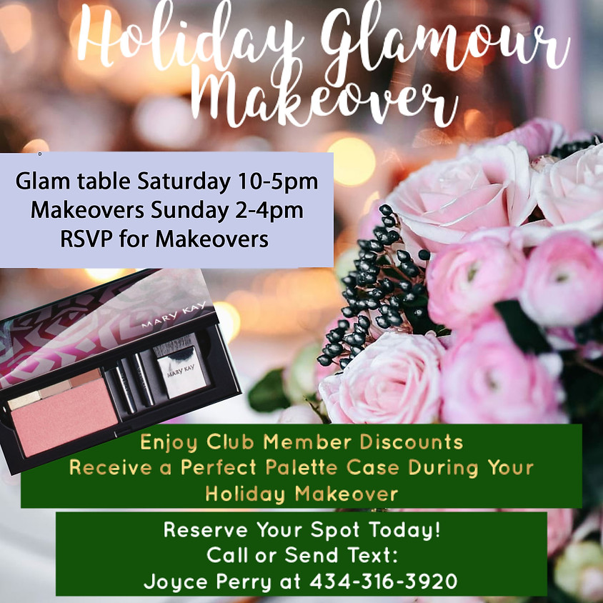 Holiday Glam Makeover