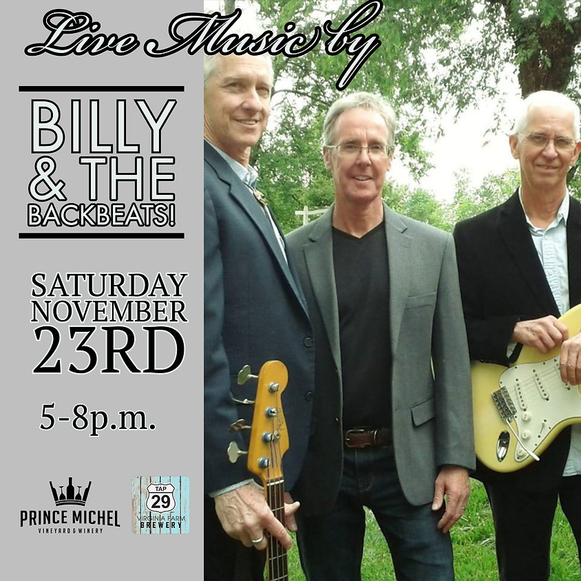 Billy and The Backbeats Live!