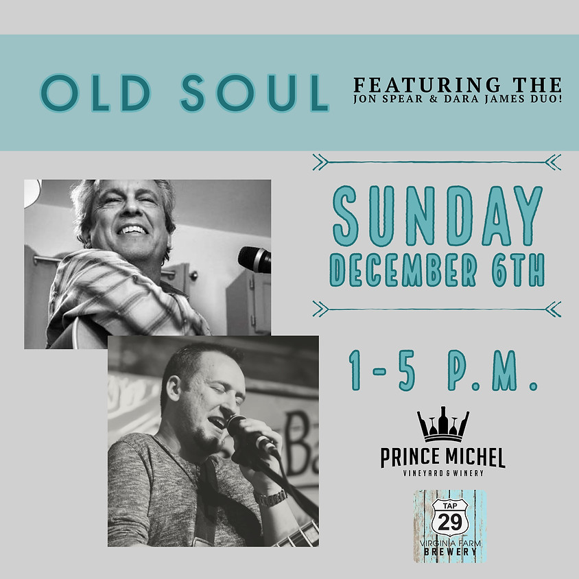 Live Music by Old Soul!