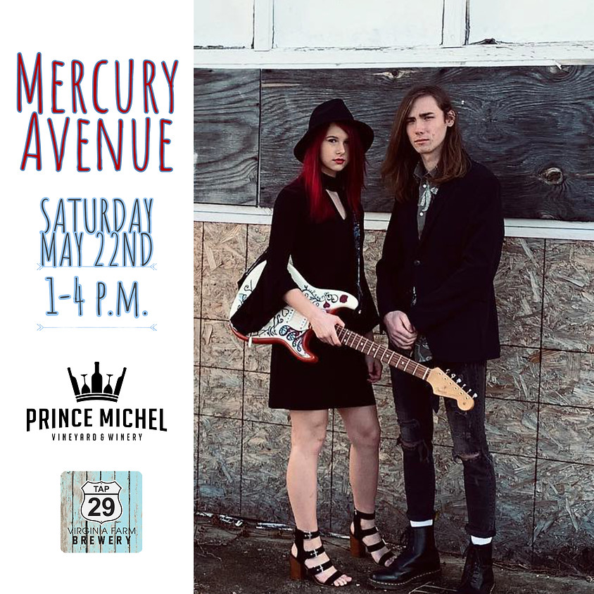 Live Music by Mercury Avenue!