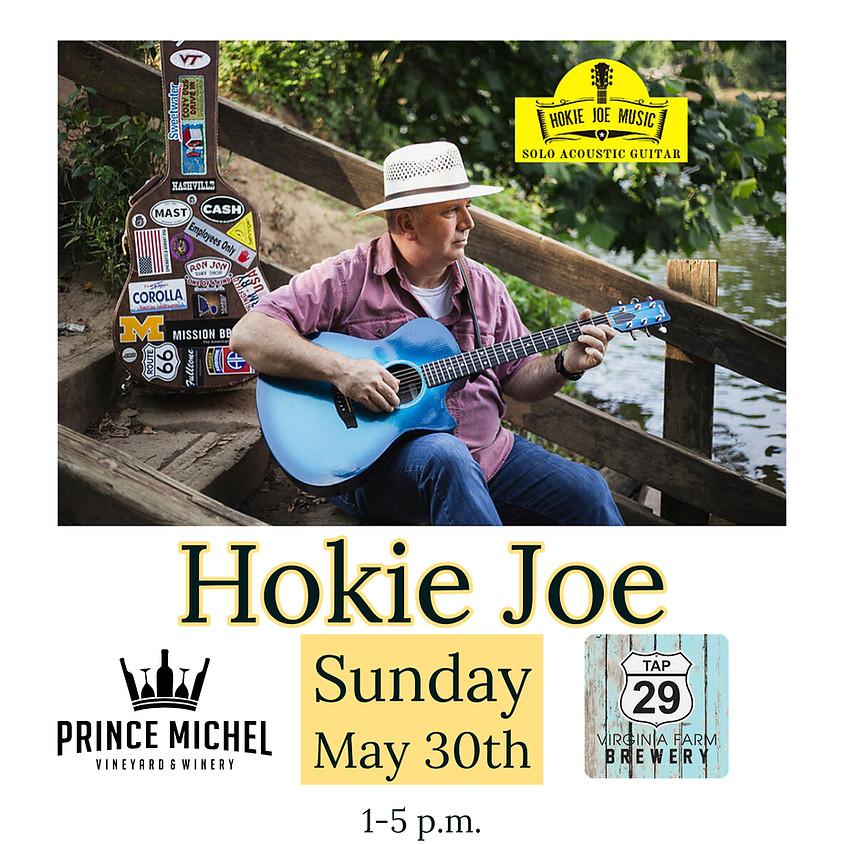 Live Music by Hokie Joe!