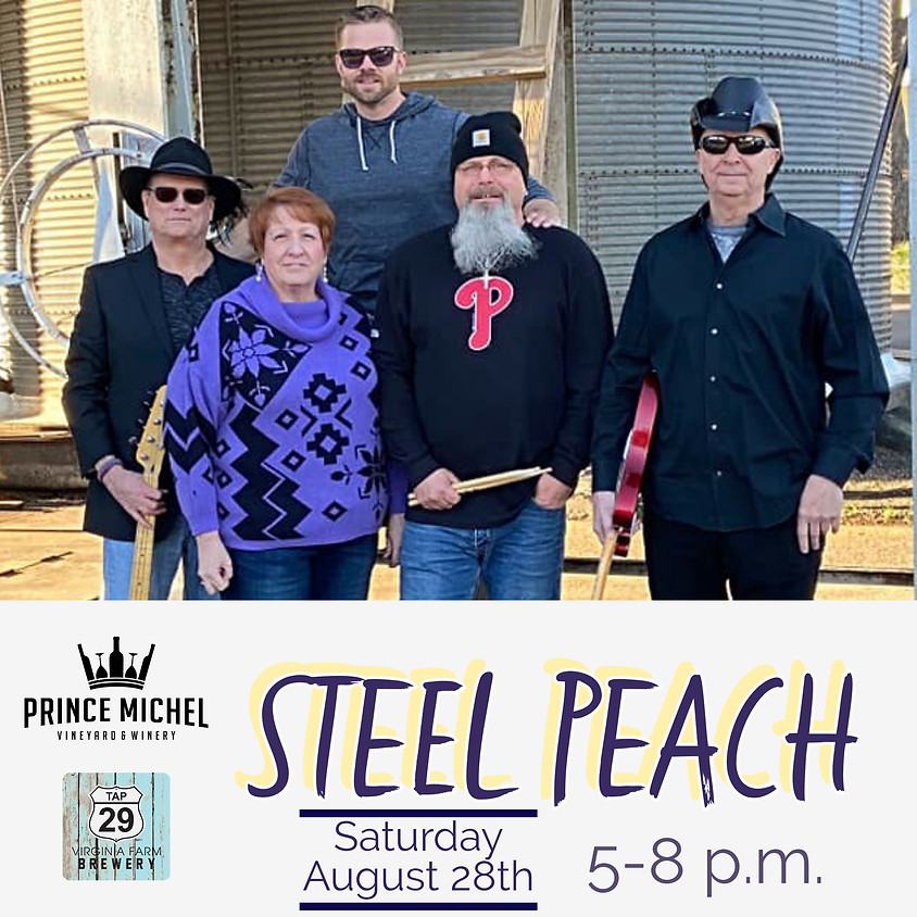 Live Music by Steel Peach