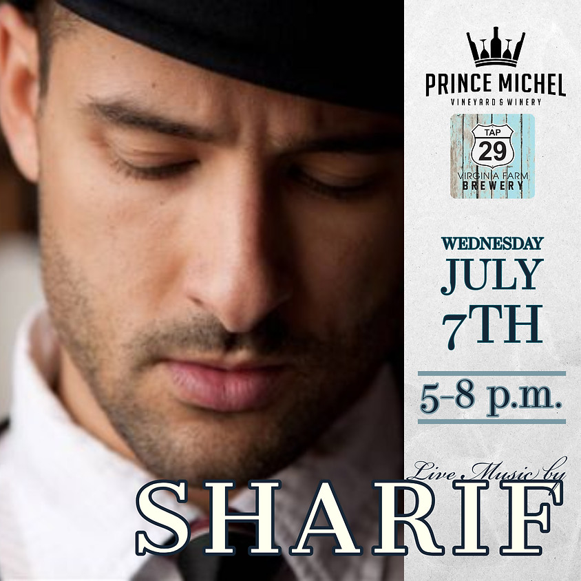 Live Music by Sharif!