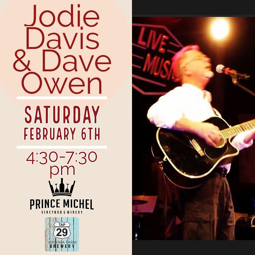 Jodie Davis & Dave Owen Live!