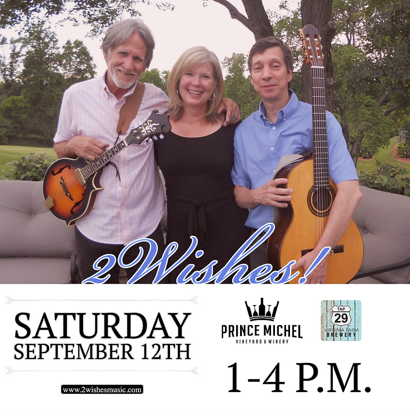 Live Music by 2Wishes!