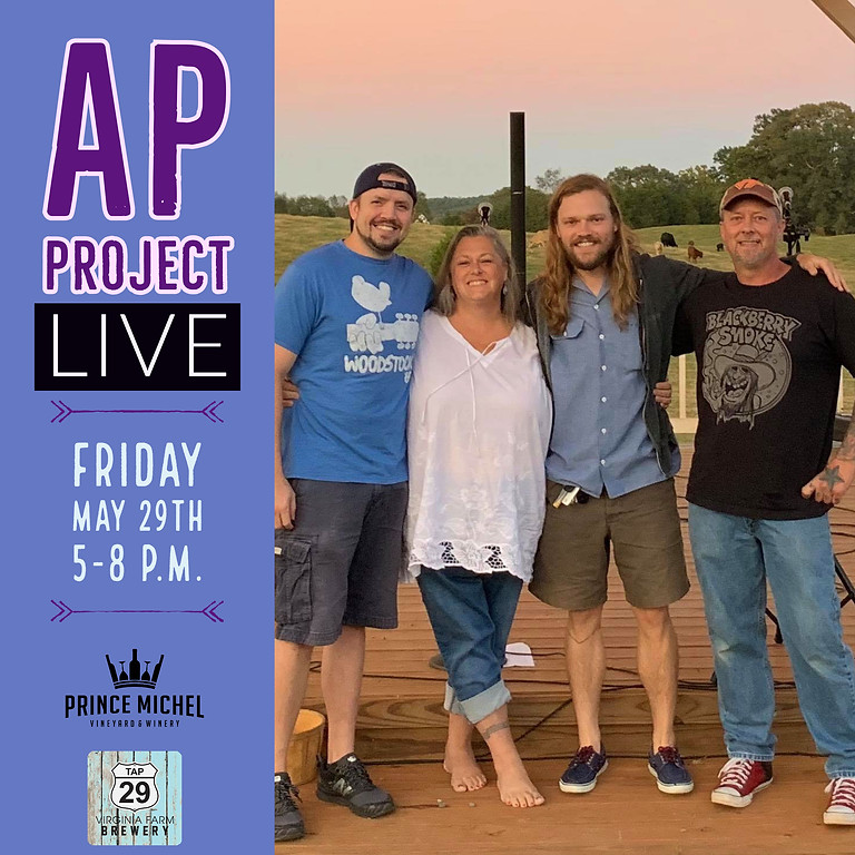Live Music by A.P. Project!
