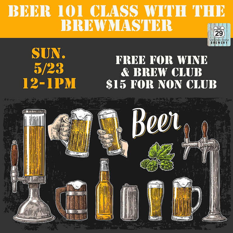 Beer 101 Class with the Brewmaster