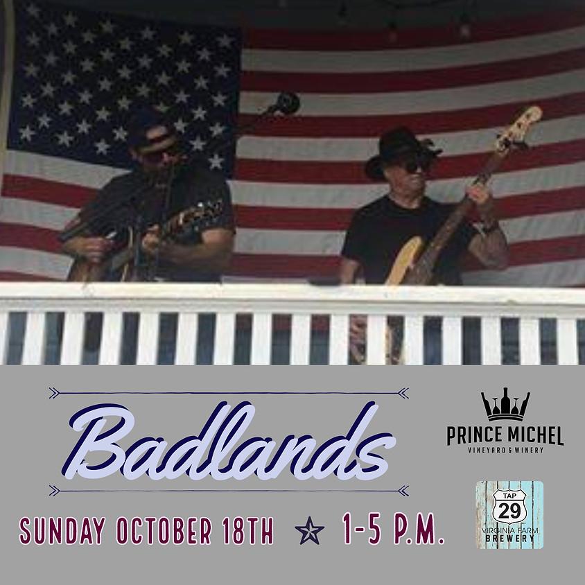 Live Music by Badlands!