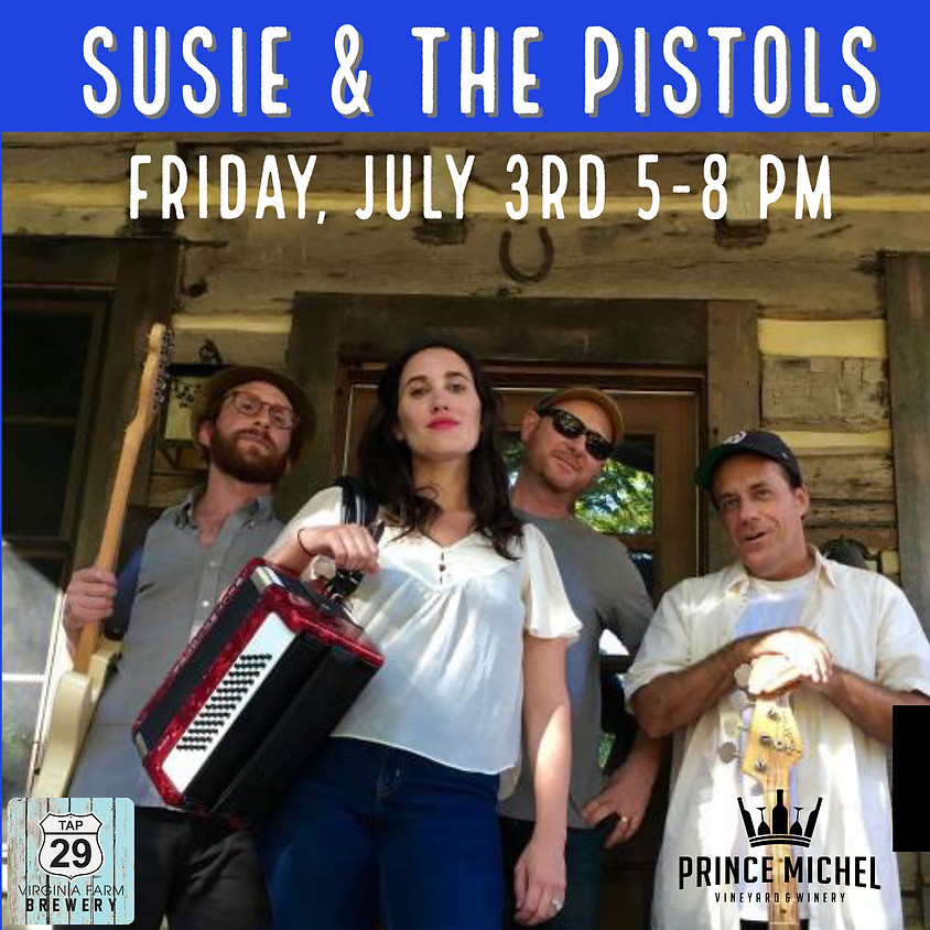 Susie and the Pistols Live!