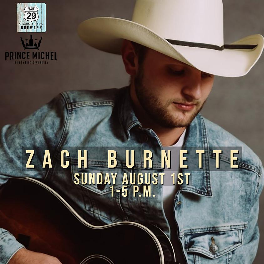 Zach Burnette Live!