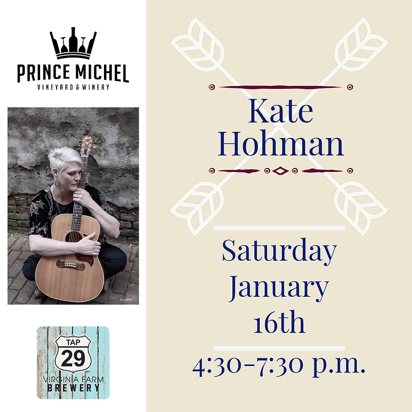 Live Music by Kate Hohman!