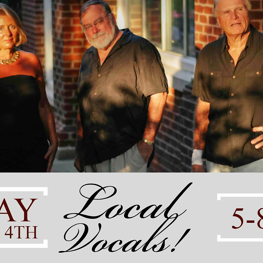 Live Music by Local Vocals!