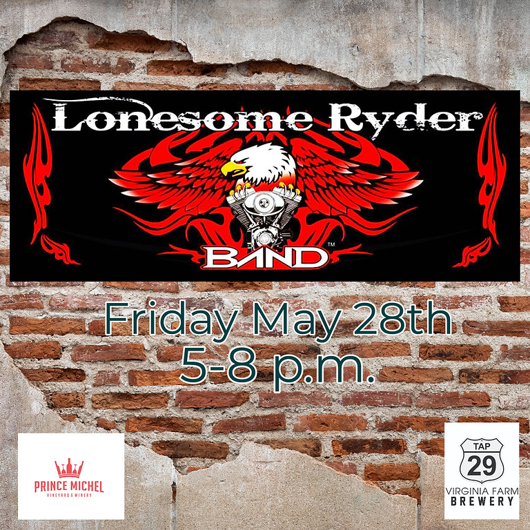 Live Music by The Lonesome Ryder Band!