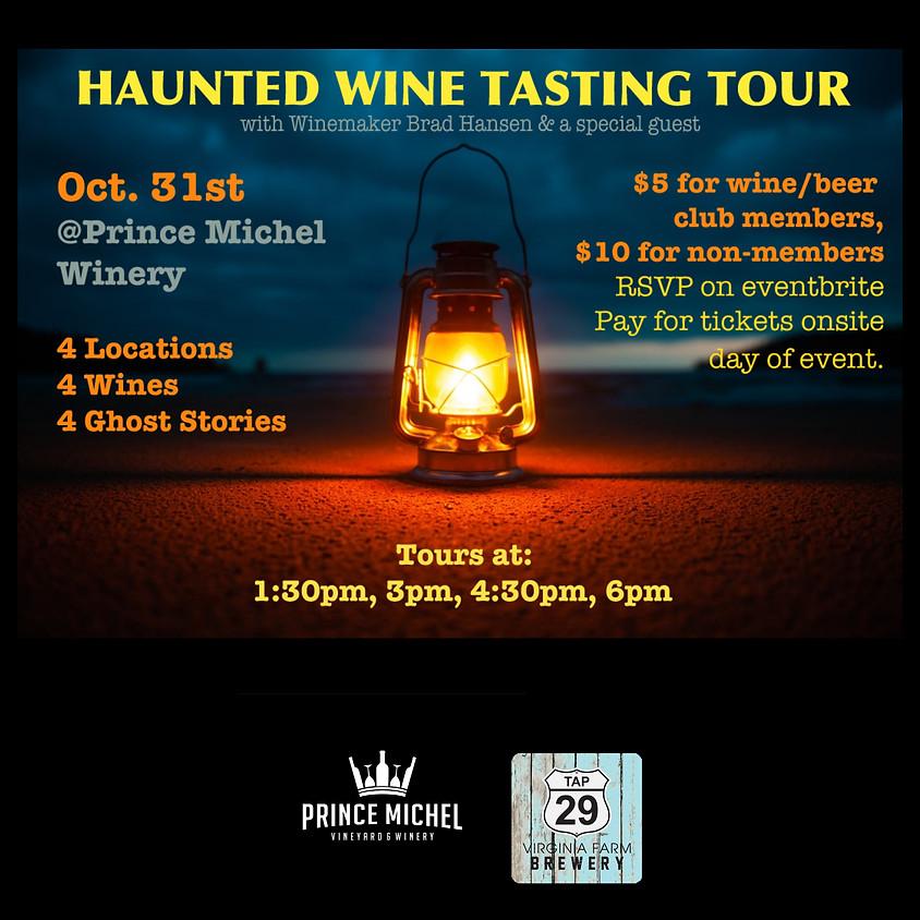 Haunted Wine Tour!
