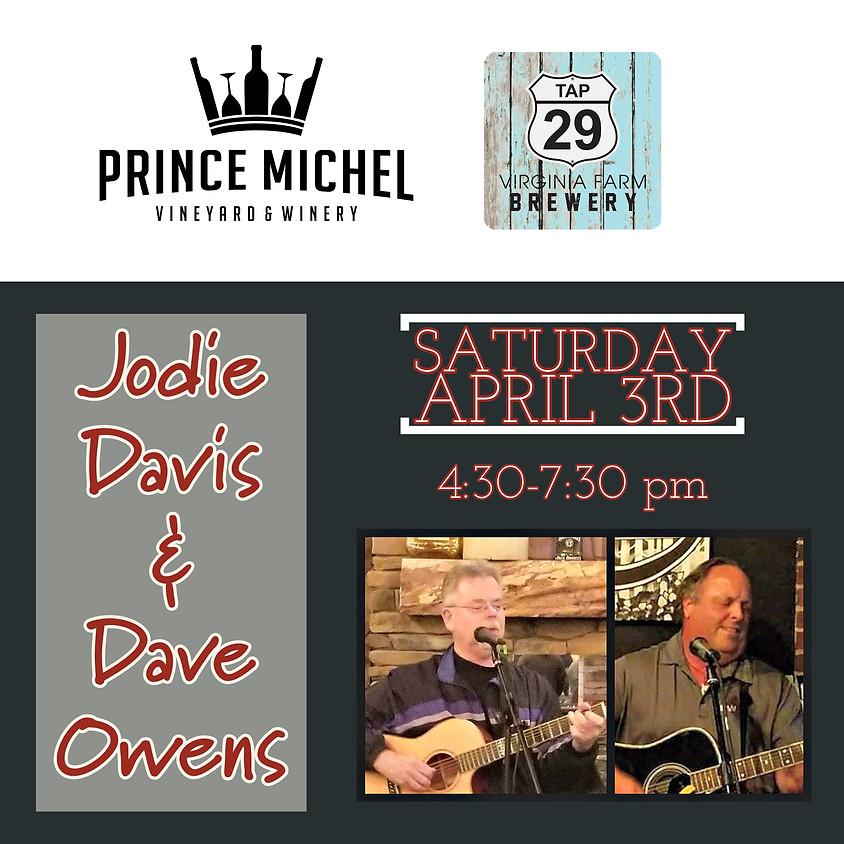 Jodie Davis & Dave Owens Live!
