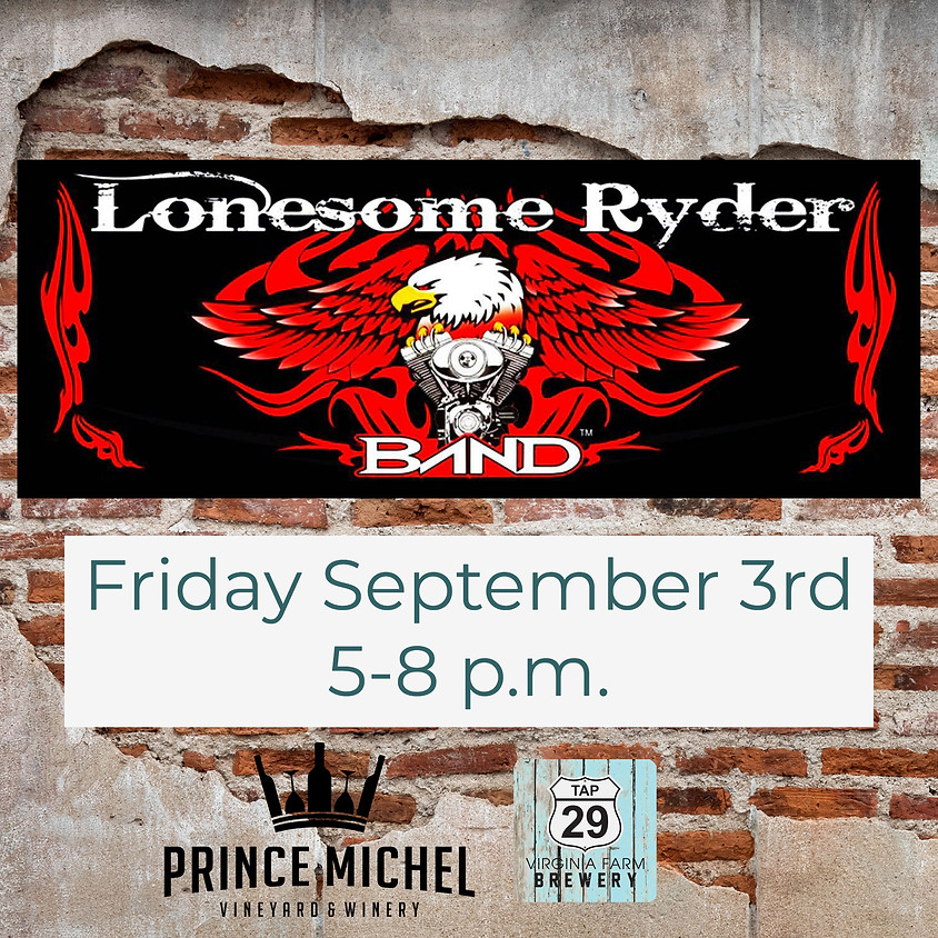 The Lonesome Ryder Band!