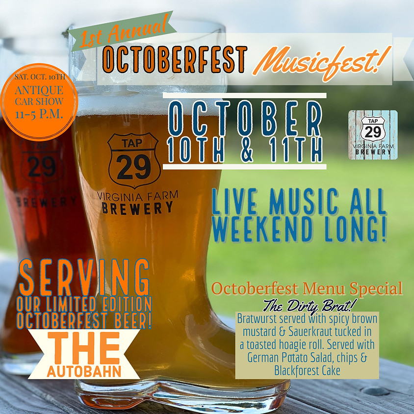 1st Annual Octoberfest Musicfest!