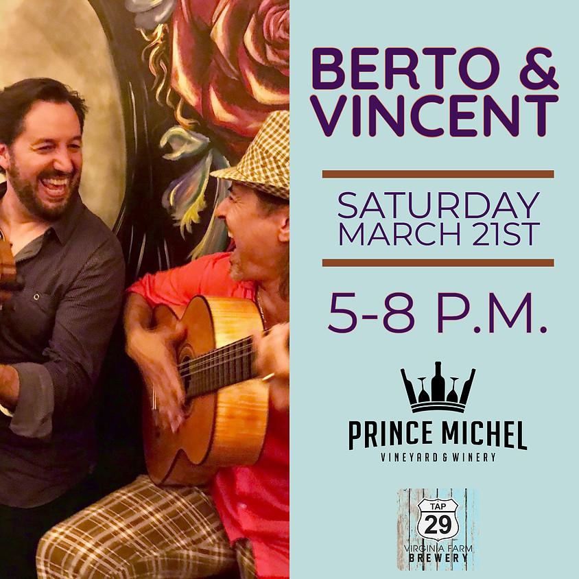 Berto & Vincent!
