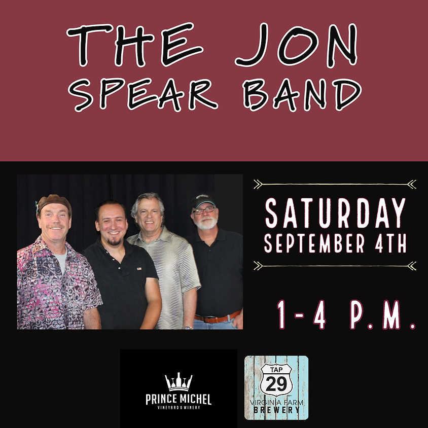 Live Music by The Jon Spear Band!