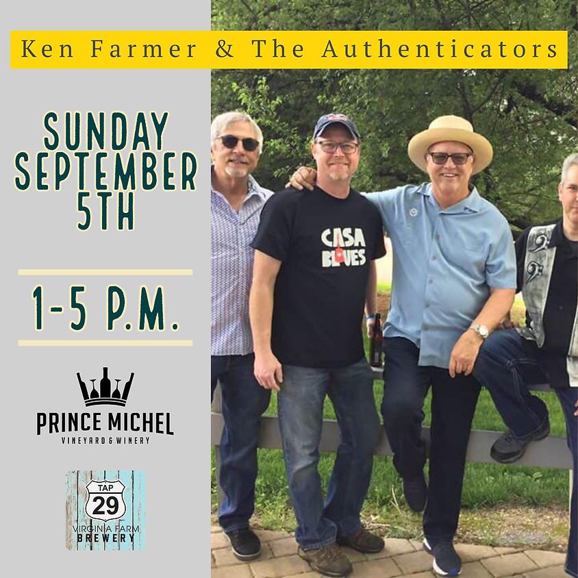 Ken Farmer & The Authenticators!
