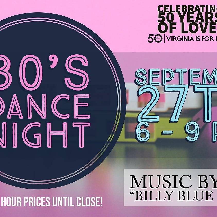 80's Dance Night