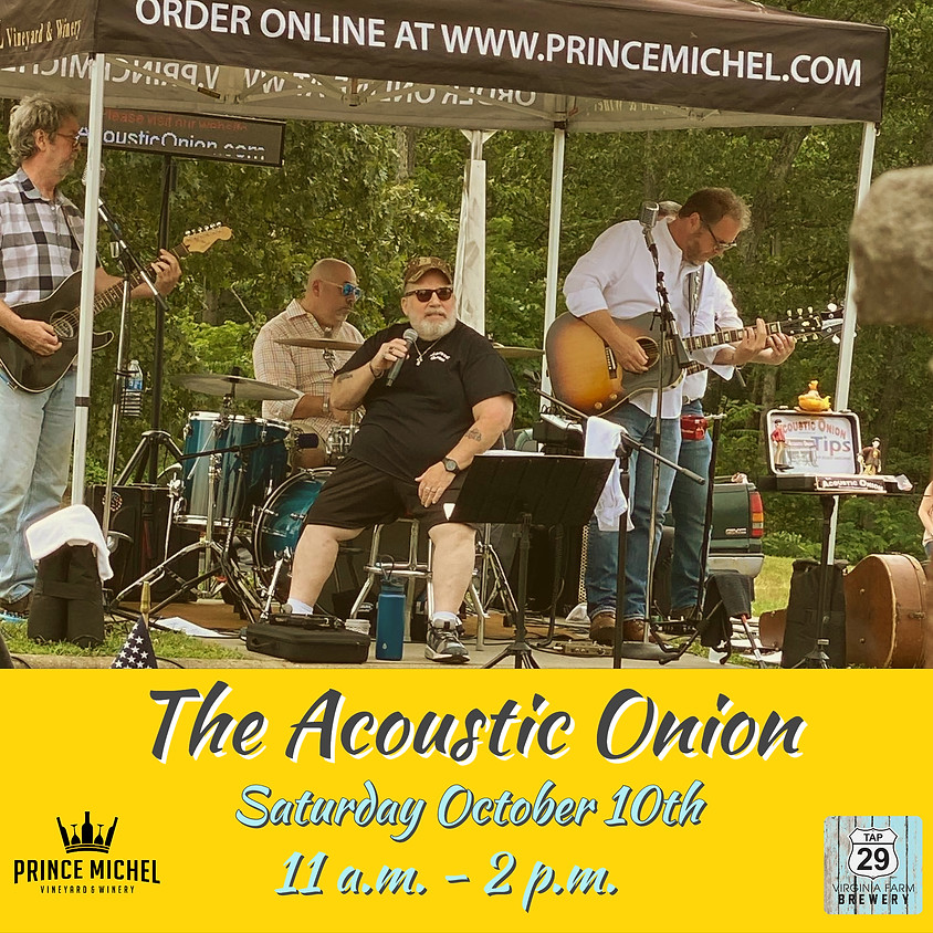 Live Music by Acoustic Onion!