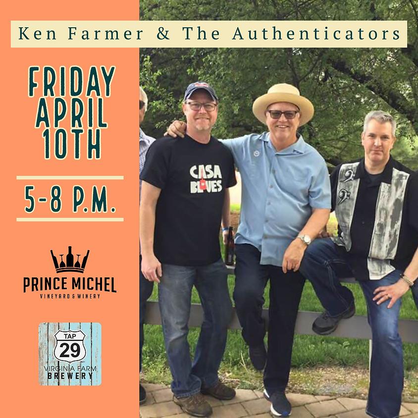 Live Music by Ken Farmer & The Authenticators