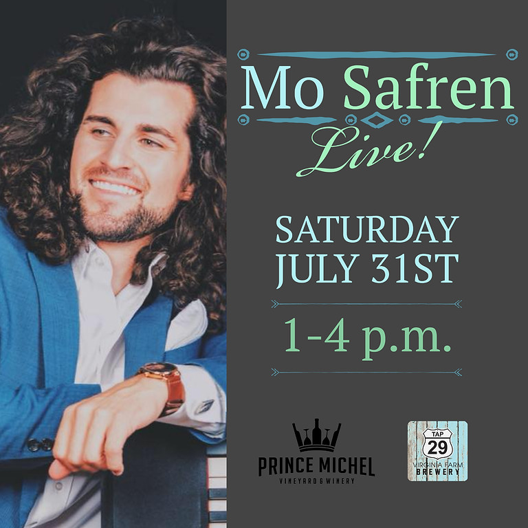 Live Music by Mo Safren!