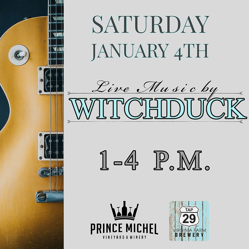 Live Music by Witchduck!