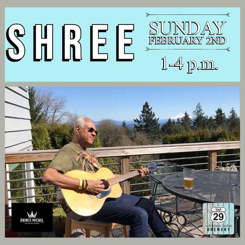 Live Music by Shree!