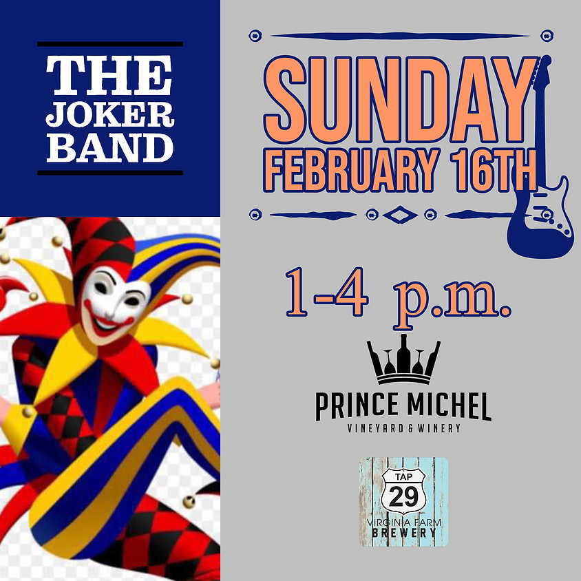 Live Music by The Joker Band!