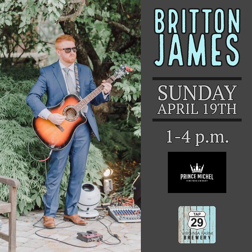 Britton James Live!