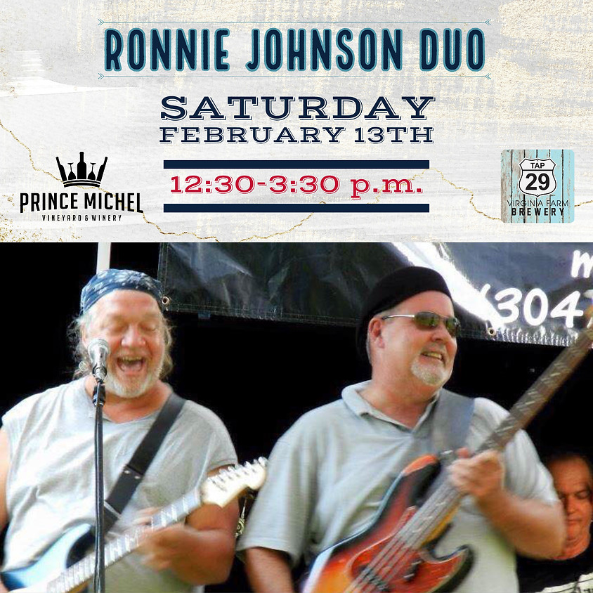 Live Music by Ronnie Johnson!
