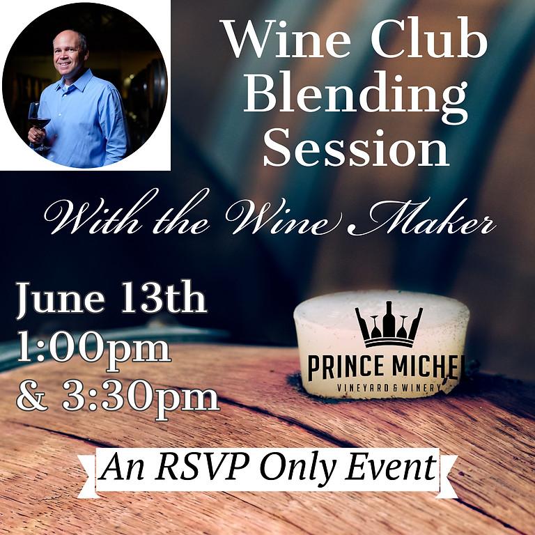Wine Club Blending Event