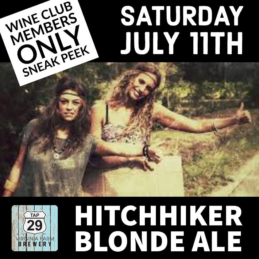 Hitchhiker Blonde Ale Sneak Peek