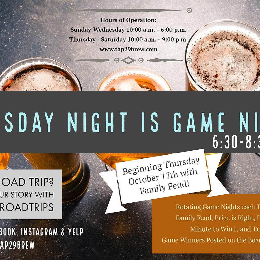 Game Night @ Tap 29