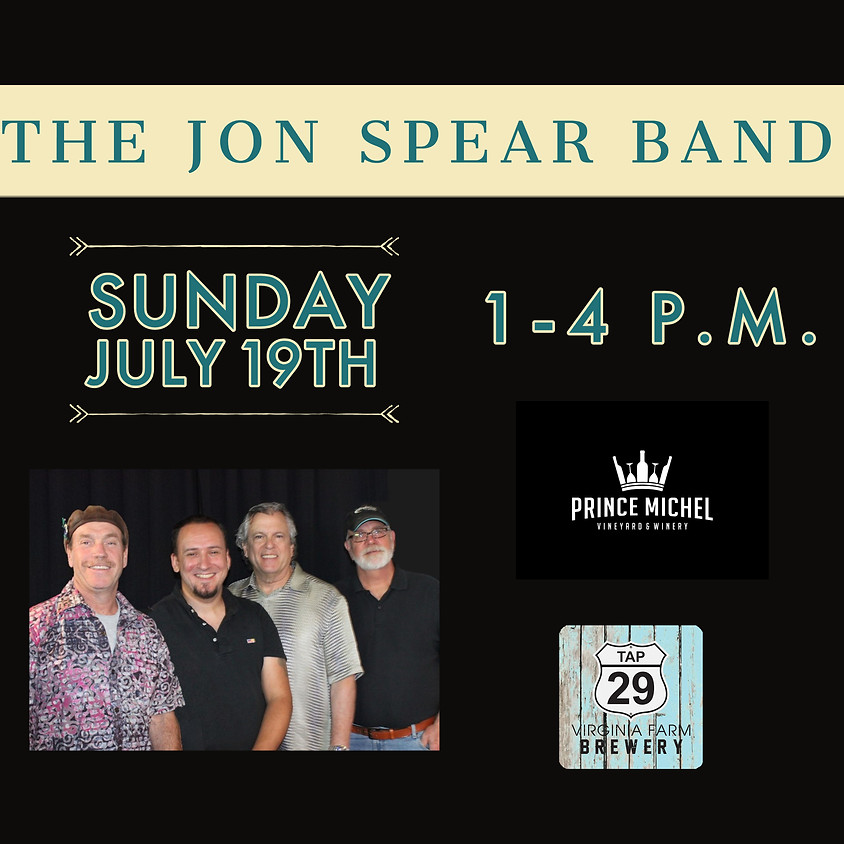 Live Music by The Jon Spear Band