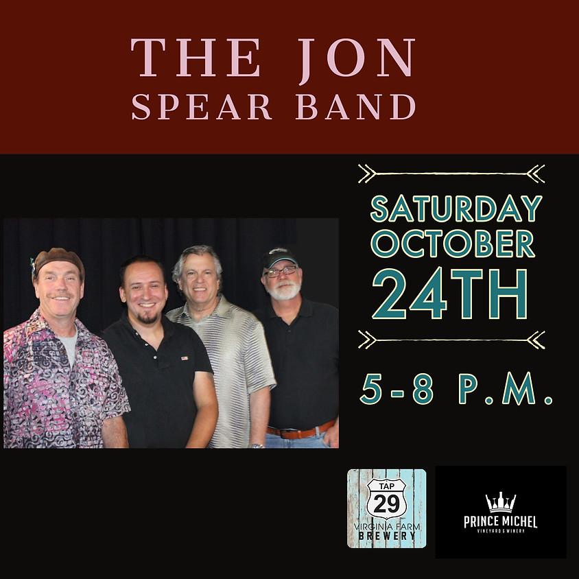 Jon Spear Band Live!