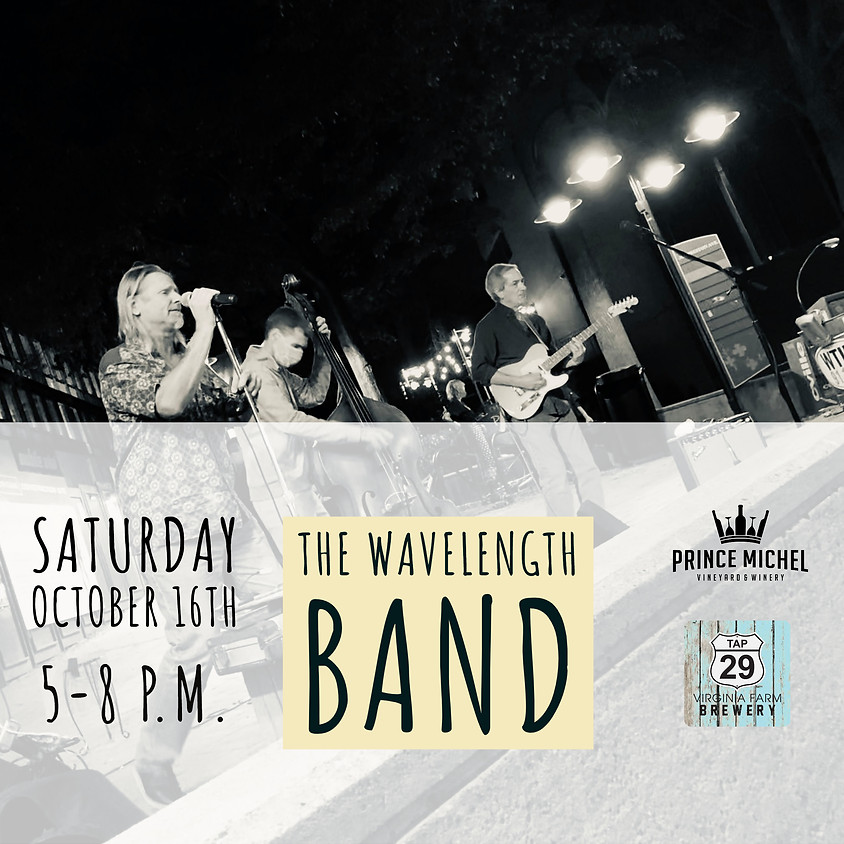 Live Music by The Wavelength Band!