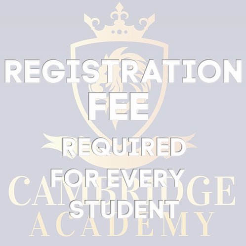 Registration Fee (non-refundable)