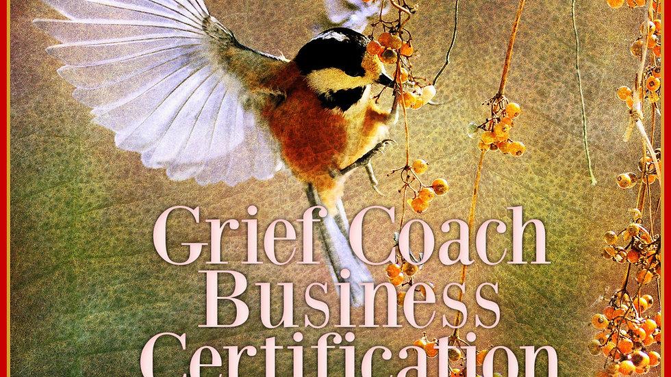 Grief Coach Business Certification Program